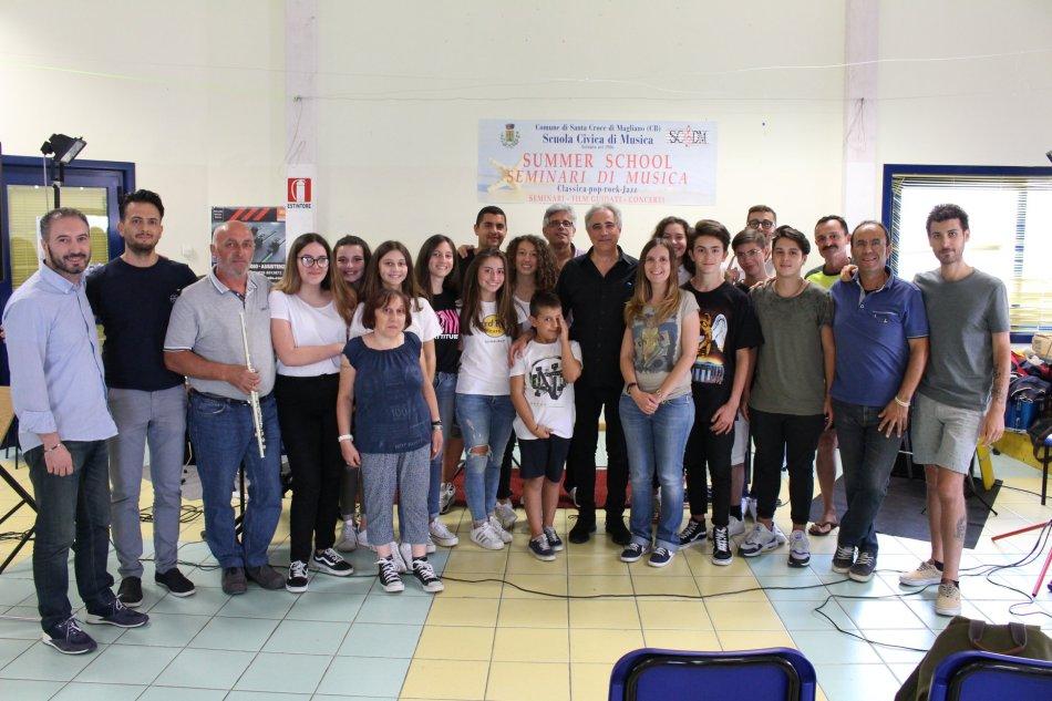 Masterclass in Santa Croce di Magliano (Campobasso, Italy)