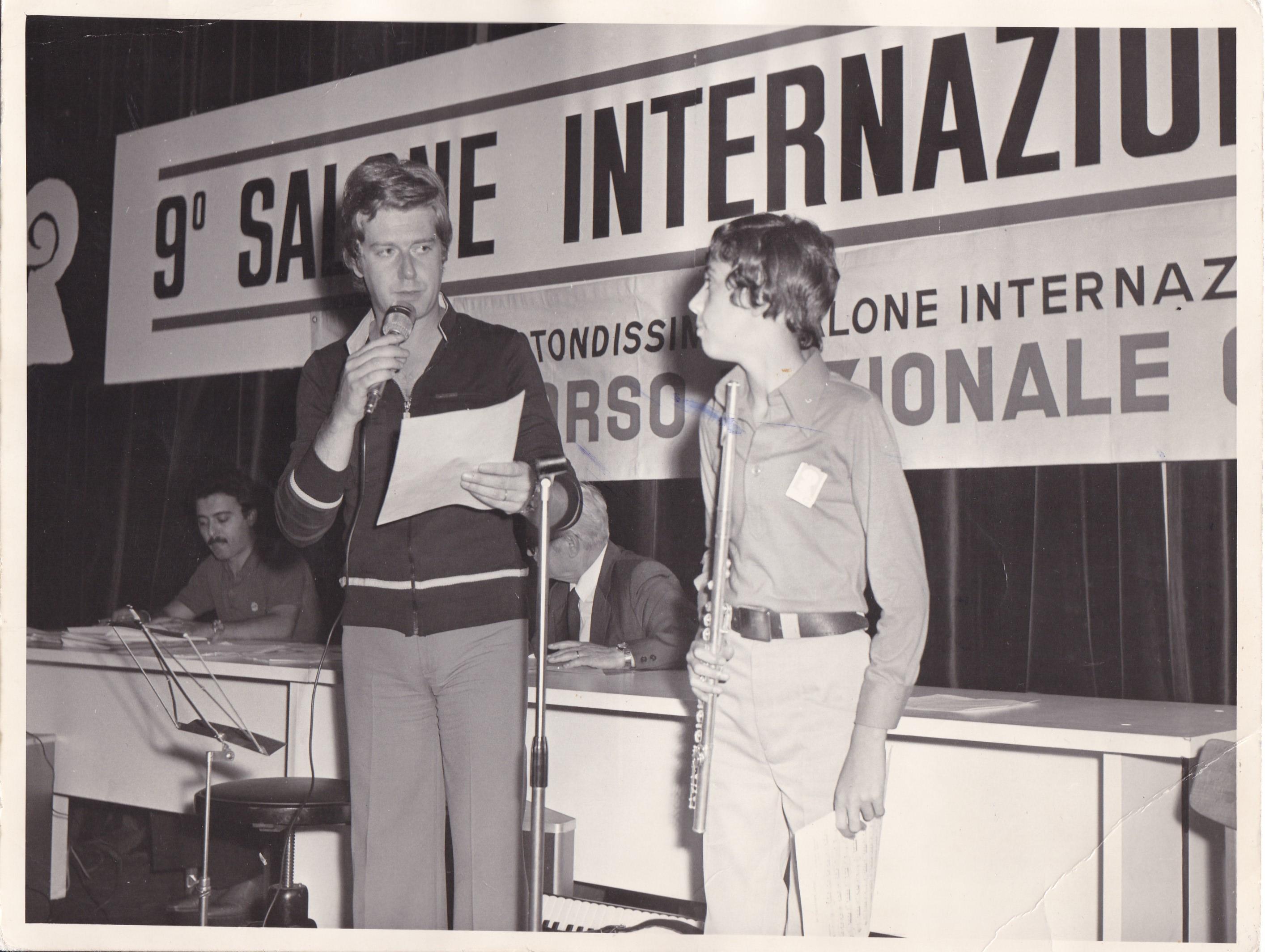 Claudio Lippi and Fernando Fracassi