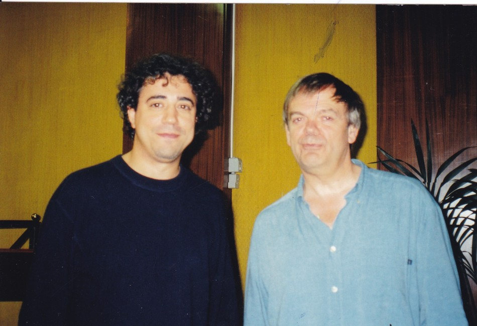 Fernando Fracassi and Barthold Kuijken in Rome (2000)