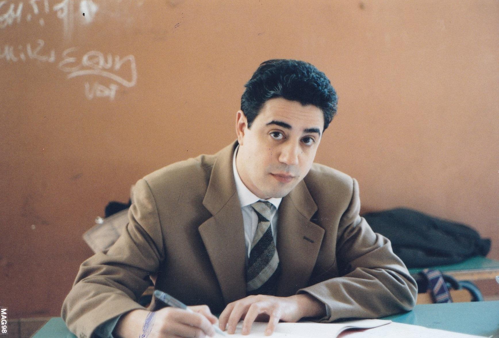 Fernando Fracassi - Music Teacher at Mamiani Lyceum of Rome (1986)