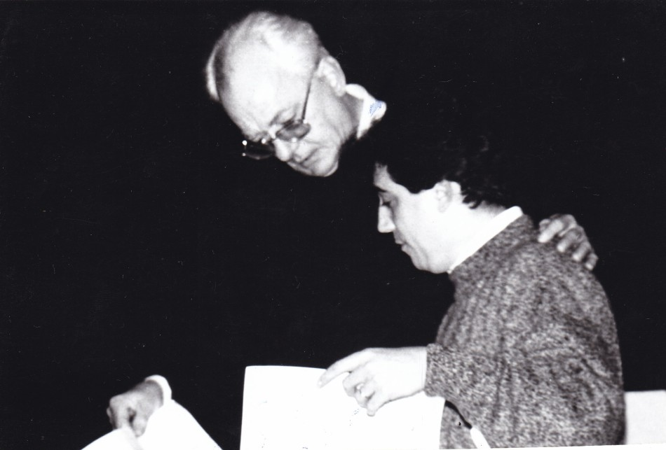 Remus Georgescu and Fernando Fracassi (Solo Concert at the National Theater o0f Costanta, Romania, 1995)