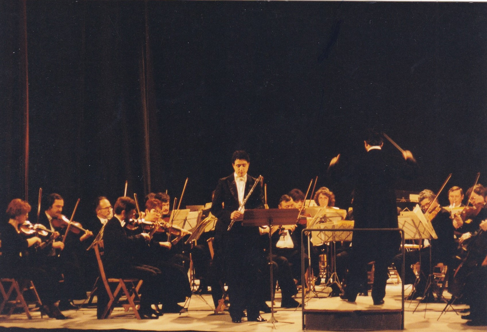 Solo Concert with the Oradea State Philharmonic Orchestra (Campobasso, Italy, 1991)